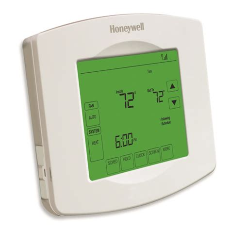 honeywell non programmable thermostat wiring problems