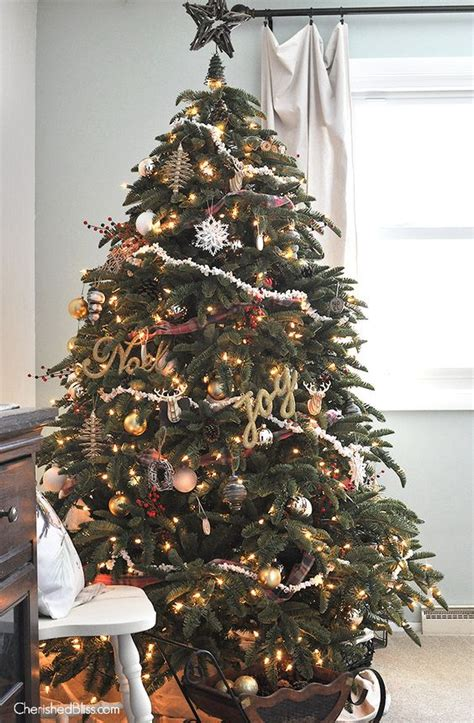 how to make xmas popcorn tinsel fashioned rustic tree seasons trees and popcorn garland