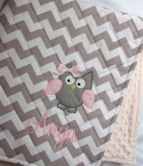 personalized quilted baby blanket design your own