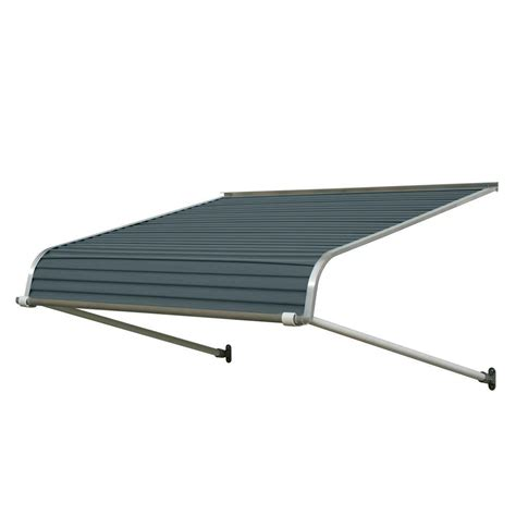 16 foot awning nuimage awnings 5 ft 1100 series door canopy aluminum