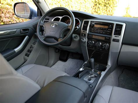 2003 Toyota 4runner Interior by Interior Toyota 4runner Limited 2003 05