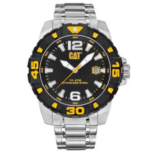 Caterpillar Cat Nh Lack Silver jam tangan original caterpillar nh 149 35 131 jual jam