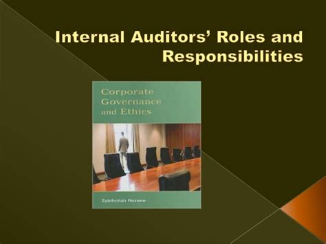 Auditors Duties And Responsibilities by Auditors Roles And Responsibilities