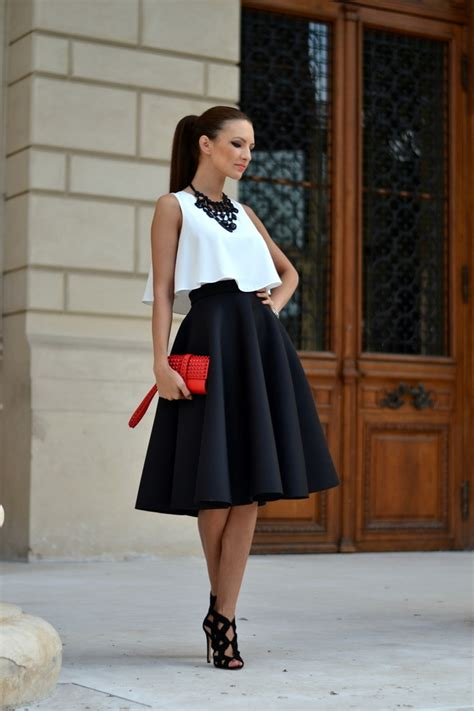 midi skirts for sparkles and shoes