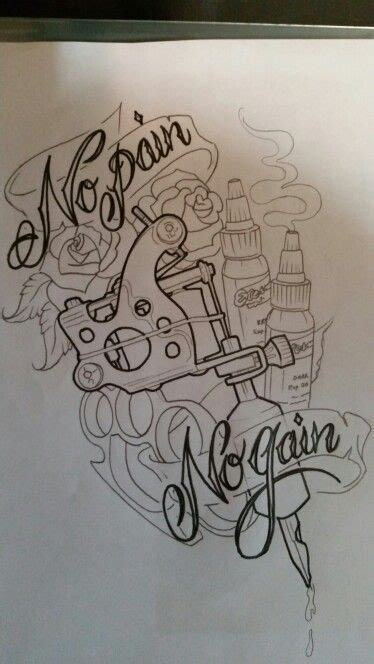 machinery tattoo design custom machine design sketch by brad mallory tried