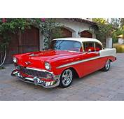 1956 CHEVROLET BEL AIR CUSTOM 2 DOOR HARDTOP  132767