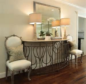 Front Entrance Table Create Impact With Console Tables In The Entry