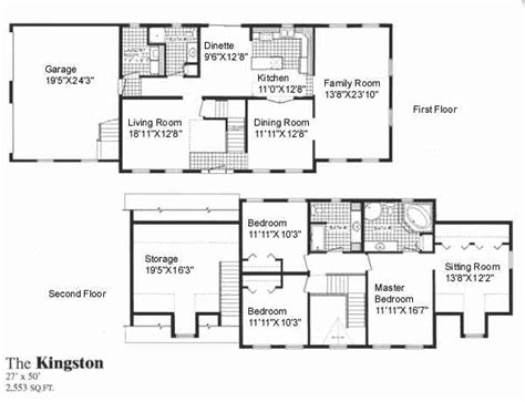 2 story home plans kingston sea hawk homes