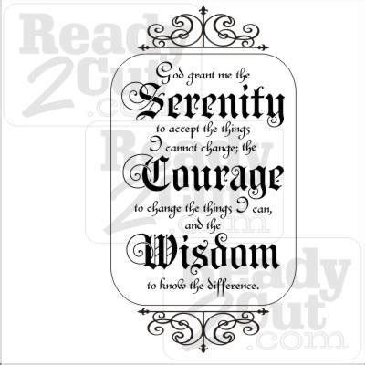 serenity prayer art vector