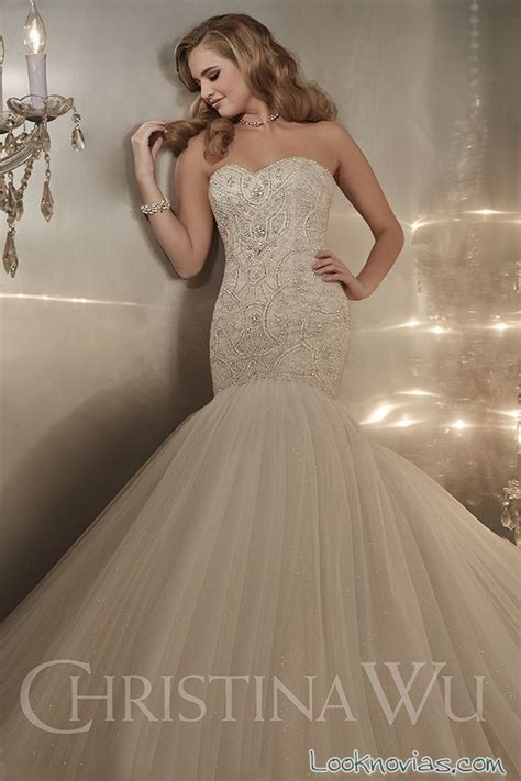 imagenes de vestidos de novia con brillos el glamour y el brillo en los vestidos de christina wu