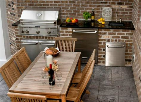 small outdoor kitchen design ideas triyae com small backyard kitchen designs various
