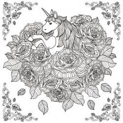 printable coloring pages for adults unicorn 2016 advent calendar coloring pages for adults