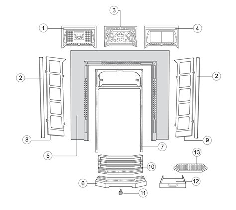 Fireplace Der Parts by Cast Iron Fireplace Der Parts 28 Images