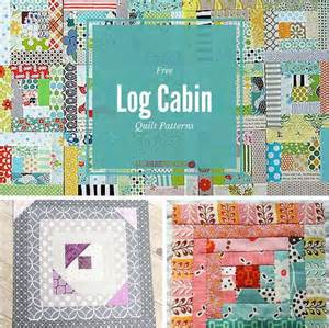 37 free log cabin quilt patterns favequilts