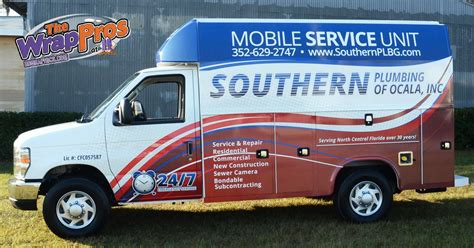 Southern Plumbing Services by Southern Plumbing Bb Graphics The Wrap Pros