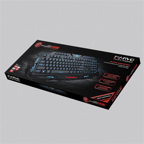 Marvo K936 Gaming Keyboard b 224 n ph 237 m marvo k936 ph 237 m marvo k936 marvo k936