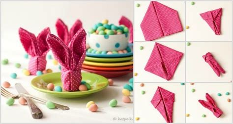 Easter Paper Napkin Folding - related keywords suggestions for easter napkins