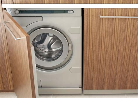 hide washer and dryer organically modern