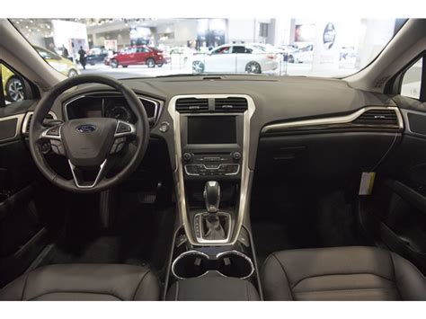 Ford Fusion 2016 Interior by 2016 Ford Fusion Hybrid Interior U S News World Report