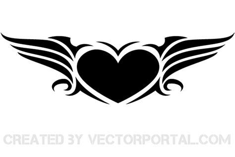 heart wing logo clip art vector clip art online royalty free vector vector clip art heart clip art male models
