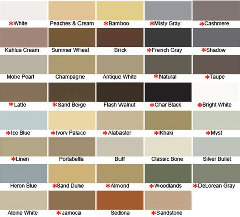caulk colors 8 best images of hydroment grout color chart mapei