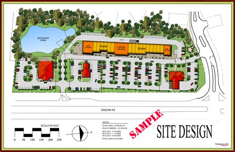 site planning and design business commercial site planning dempsey land design