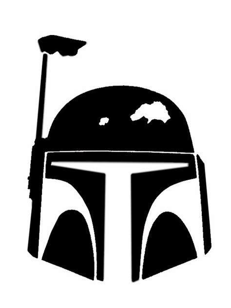 Bobba Black Alive Arts wars stencil clipart best kid space wars stencil stenciling and