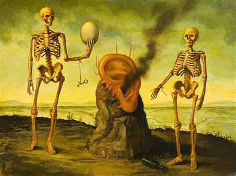 imagenes surrealistas de la muerte pinturas surrealistas de mike davis arte feed