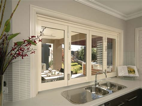 Outside Kitchens Designs aluminium bi fold windows aluminium windows stegbar