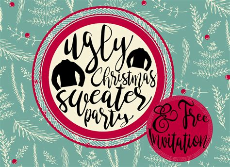 images of ugly christmas sweater parties ugly christmas sweater party ideas free invitations