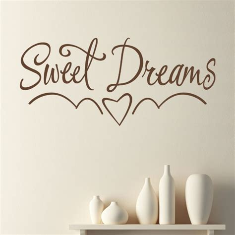 Sweet Dreams Wall Stickers sweet dreams children s bedroom nursery wall sticker