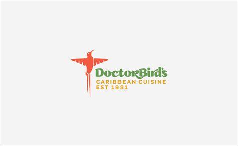 doctor bird s caribbean cuisine logo design typework