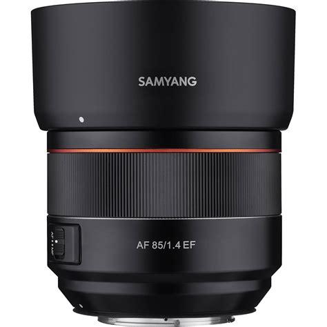 Samyang 85mm F 1 4 Canon samyang af 85mm f 1 4 ef lens for canon ef syio85af c b h