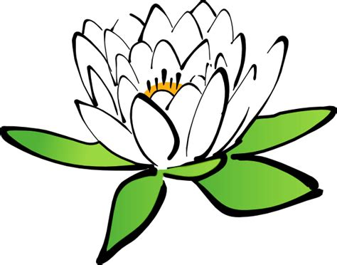 lotus flower clip art  clkercom vector clip art  royalty  public domain