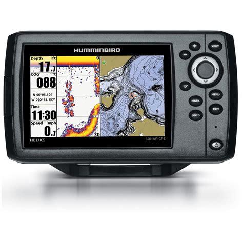 humminbird helix 5 sonar fishfinder gps combo 634252