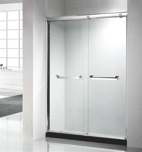 Shower Door Suppliers China New Design Framed Stainless Steel Cheap Price Sliding Shower Door Manufacturers