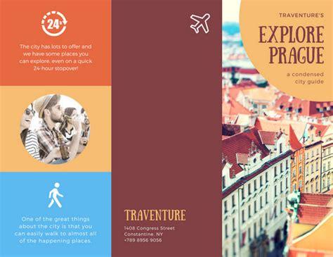 tourist brochure template customize 93 travel brochure templates canva