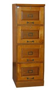 oak four drawer file filing cabinet ebay