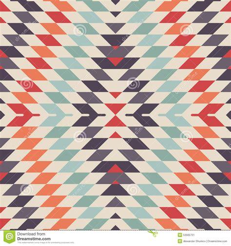 seamless tribal pattern vector free stylish seamless vector tribal pattern for textile design