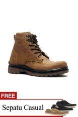 Sepatu Redknot Luz 01 jual sepatu boots pria berkualitas lazada co id