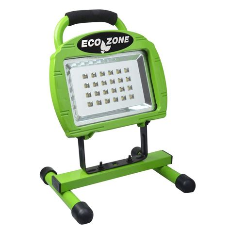 Work L Led 9 Mata designers edge high intensity green 24 led portable work light l1323 the home depot