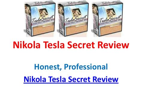Nikola Tesla Beliefs Nikola Tesla Secret Review Read Nikola Tesla Secret