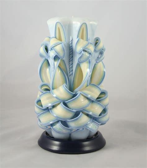 candele scolpite candele decorative artigianali in cera multistrato incisa