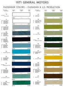 gm color gm factory paint color chart pictures to pin on