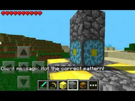 minecraft pe new portal minecraft pe nether portal bauen german tutorial youtube