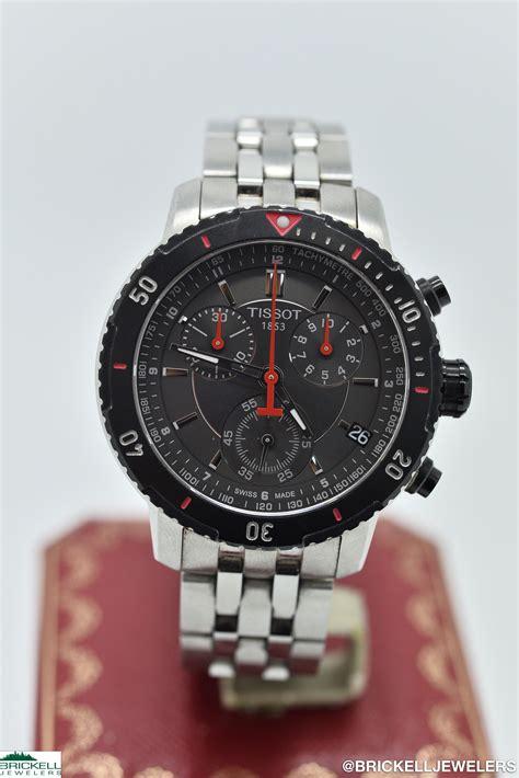 Gc Chrono Black Batrei All Stell tissot prs 200 chronograph t067417a black stainless steel quartz battery brickell jewelers