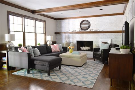 young house love sectional 10 tips for creating a cozy living room a pretty fix