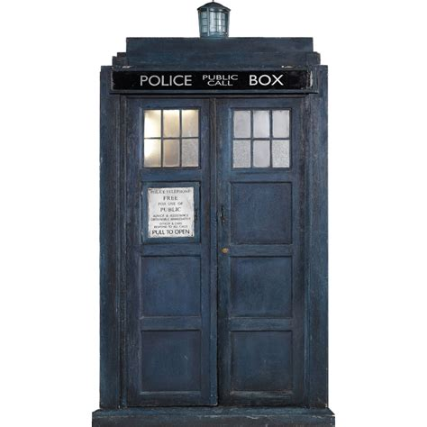 Tardis Door Cling by Doctor Who Tardis Wall Cling Choose From Mini Medium