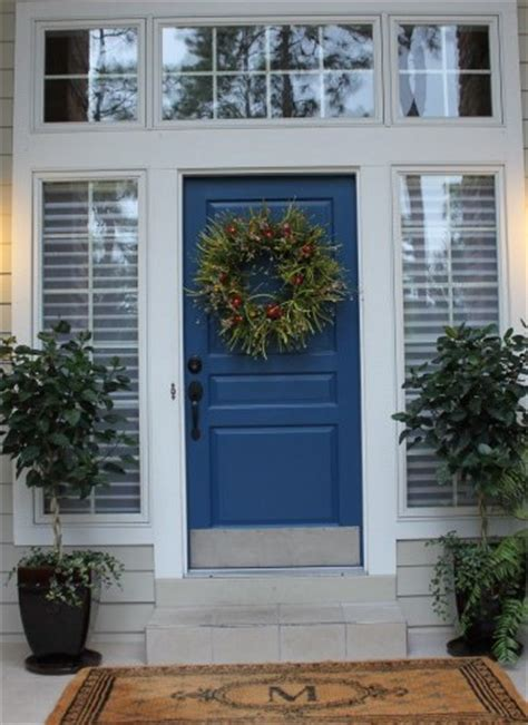 exceptional Blue Front Door Colors #4: Living-on-the-Bliss-e1437917779204.jpg