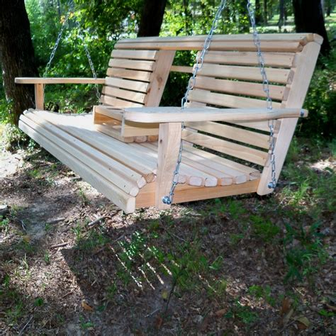 diy garden swing plans unwind in your yard with a diy wood porch swing with cup